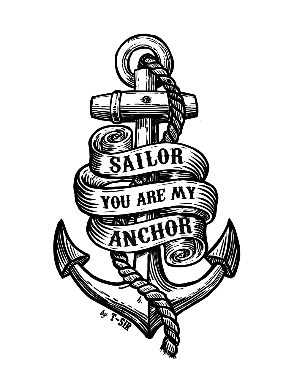 Anchor T-Sir design | Oscar Postigo