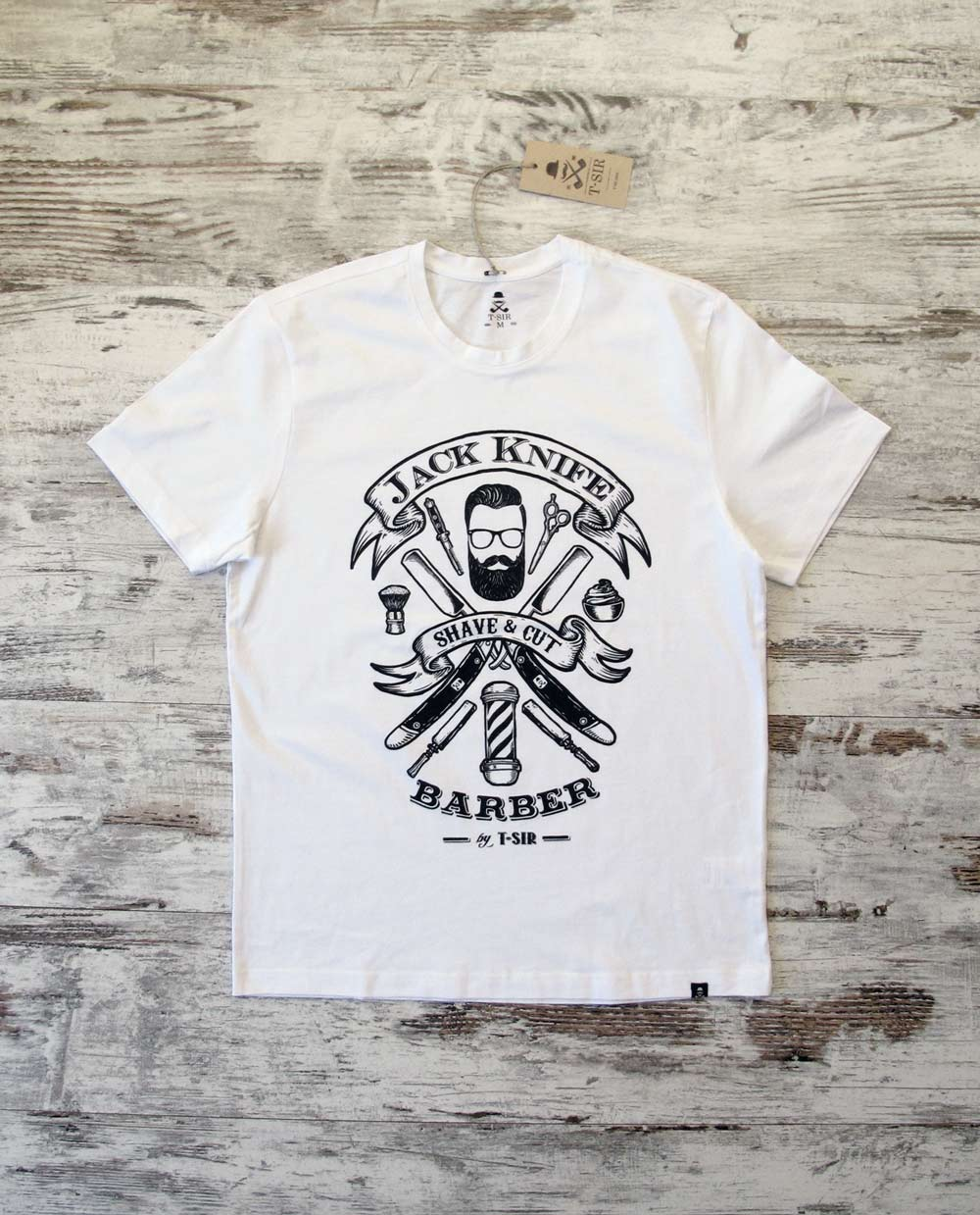Jack Knife Barber tee