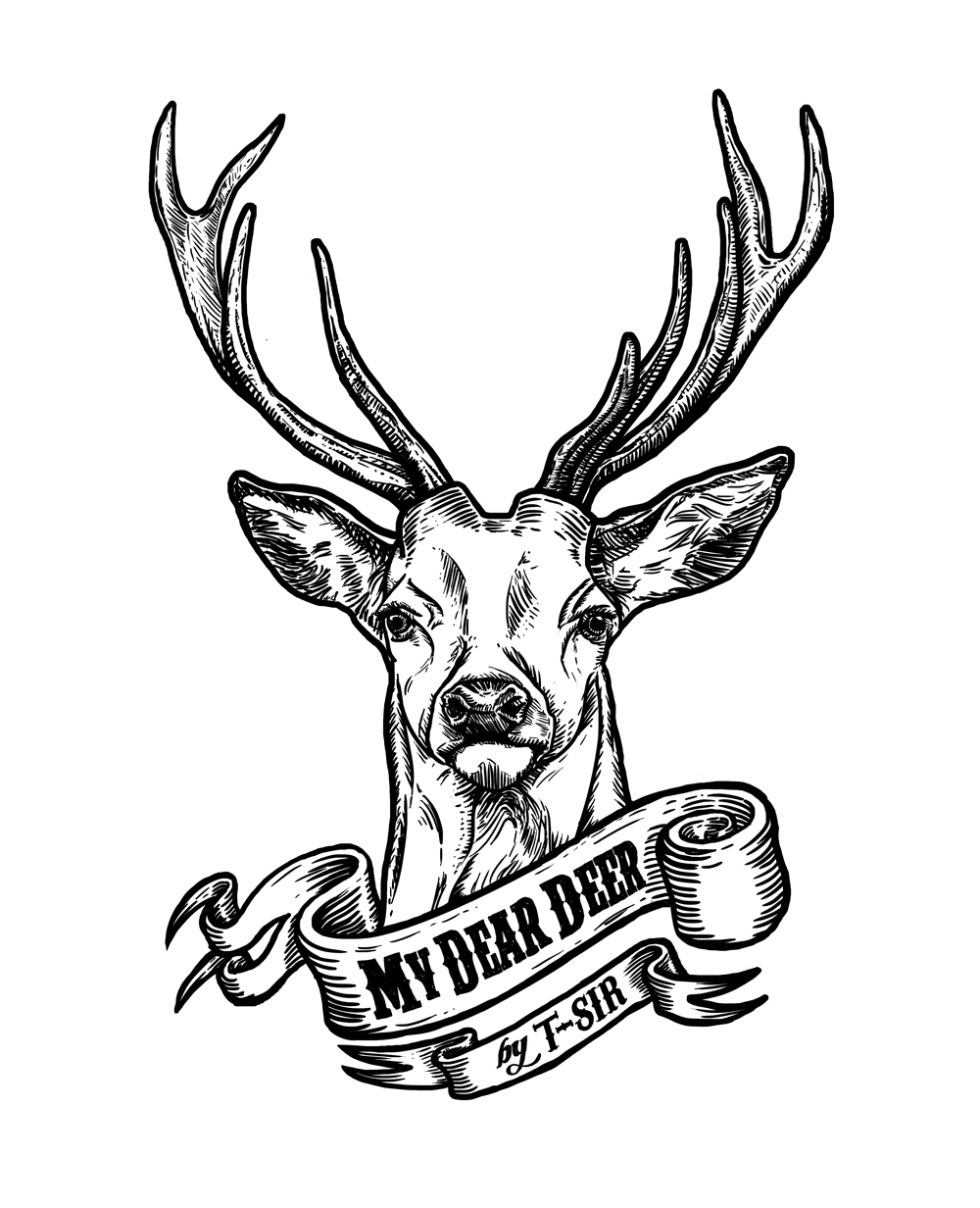 My Dear Deer design | Oscar Postigo